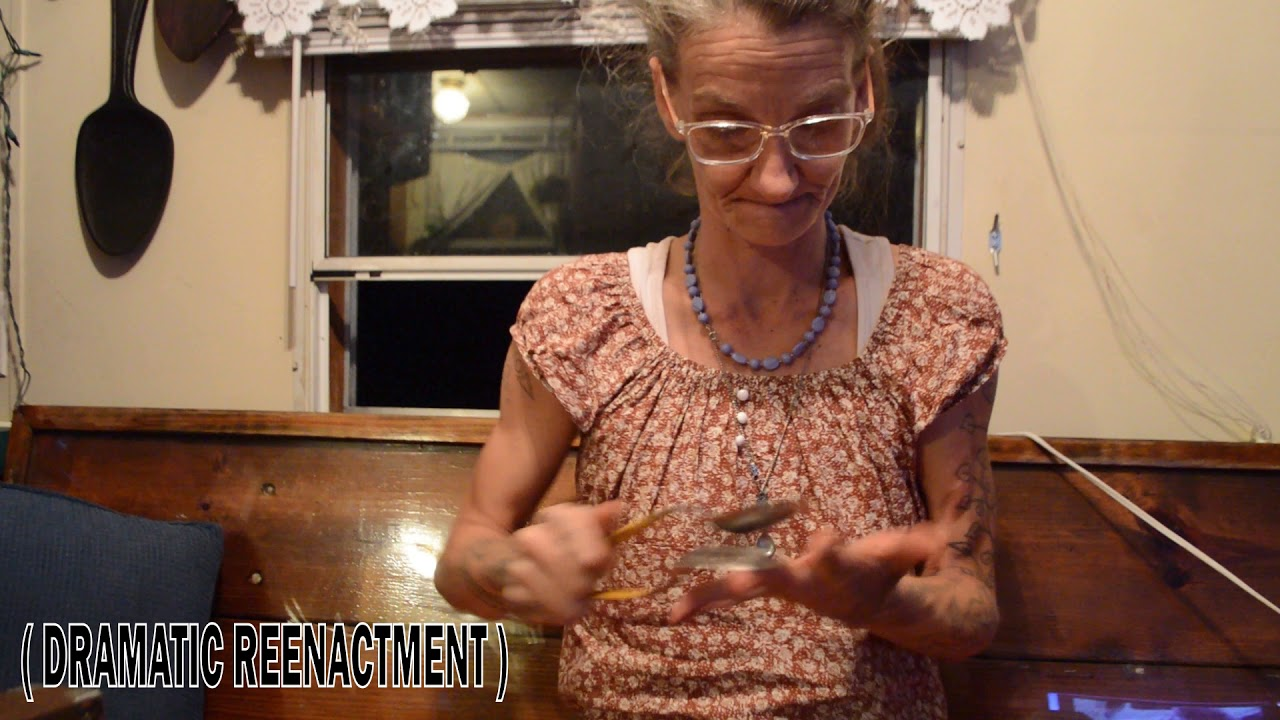 "Photo of How to Play Spoons 5 – the ""Roll"" (Spoon Lady)"