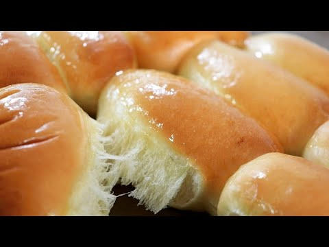 Photo of (손반죽)milk bread roll recipe/soft and fluffy milk roll/how to make dinner roll