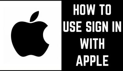 How to Use Sign in With Apple