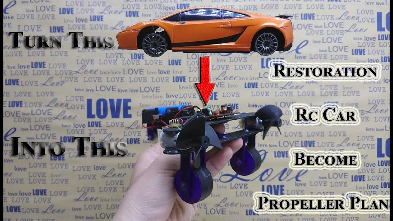 Photo of How To Restoration Rc Car Become Propeller Plane