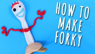 How To Make FORKY Toy Story 4 Cake Topper Tutorial
