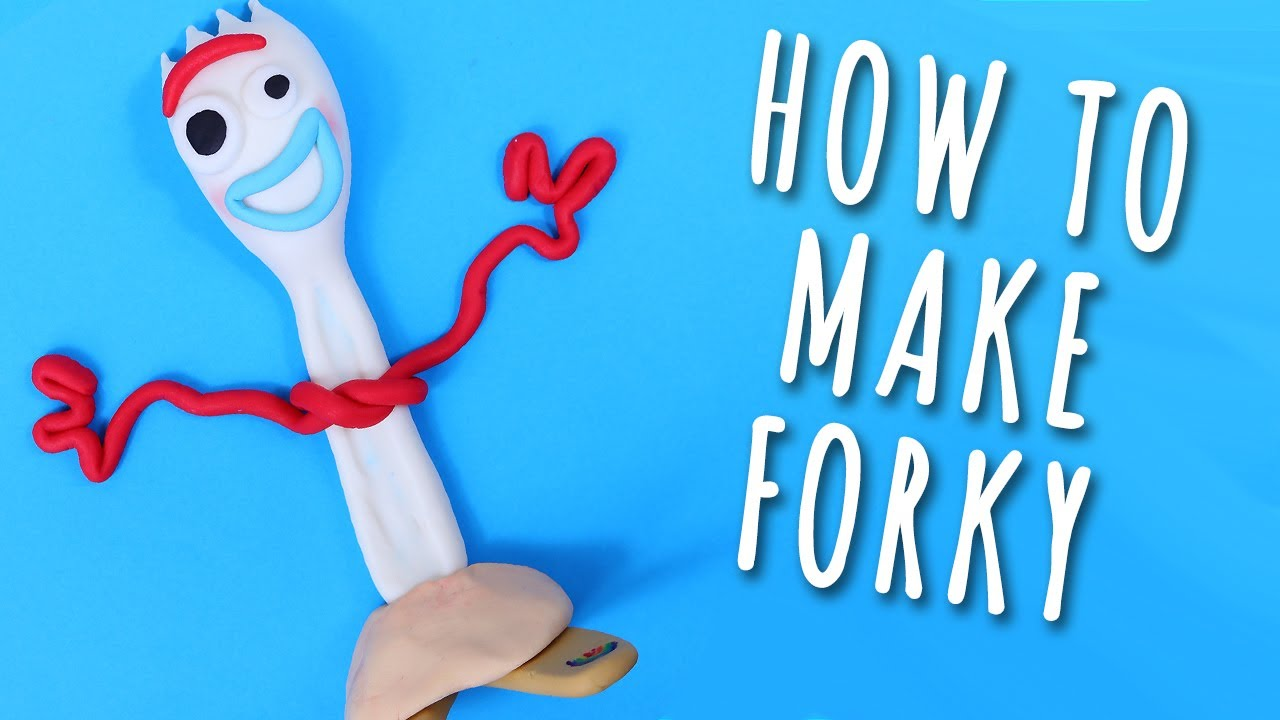 Photo of How To Make FORKY Toy Story 4 Cake Topper Tutorial
