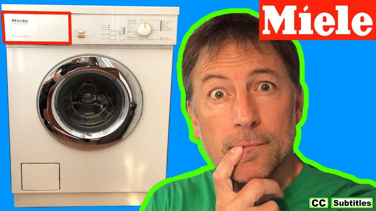 Photo of How to remove Dispenser Drawer on Miele Washing Machine