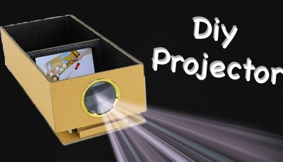 How to build a Smartphone Projector