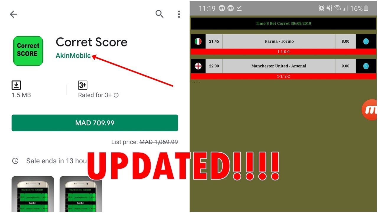 Photo of 👏 Times'S Bet Correct Score APK [Coach Betting UPDATE!!]  | تحميل مجاني 💯