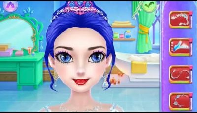 Ice Wedding Salon Makeover | Kids Makeup Game | Fun Makeup Game | العاب بنات والعاب اطفال