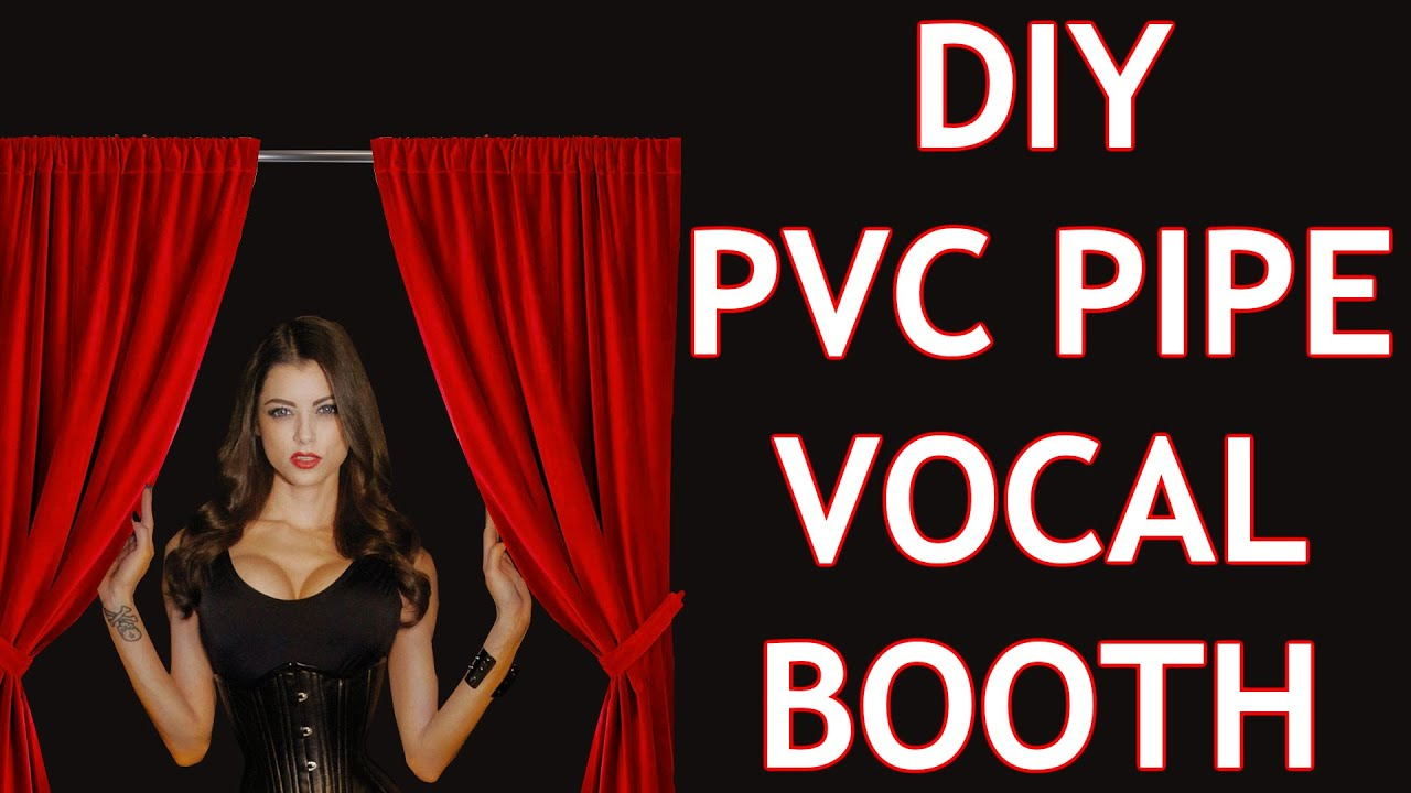 Photo of Cheap DIY PVC Vocal Booth – Part 1