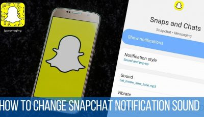 How to change snapchat notification sound